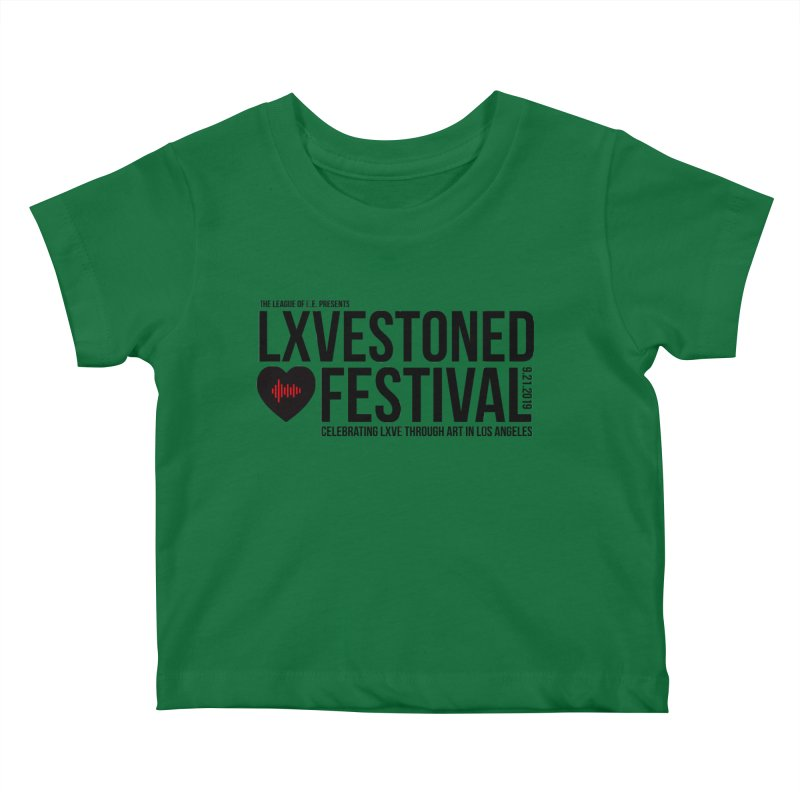 LXSTONED FESTIVAL Kids Baby T-Shirt by TDUB951