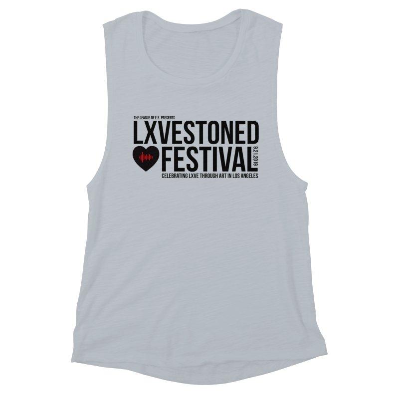 LXSTONED FESTIVAL Women's Muscle Tank by TDUB951