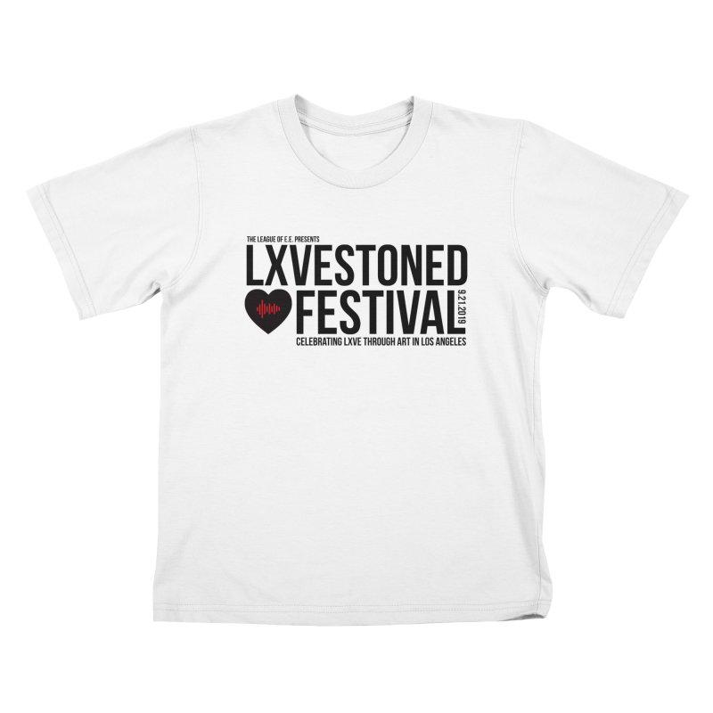 LXSTONED FESTIVAL Kids T-Shirt by TDUB951