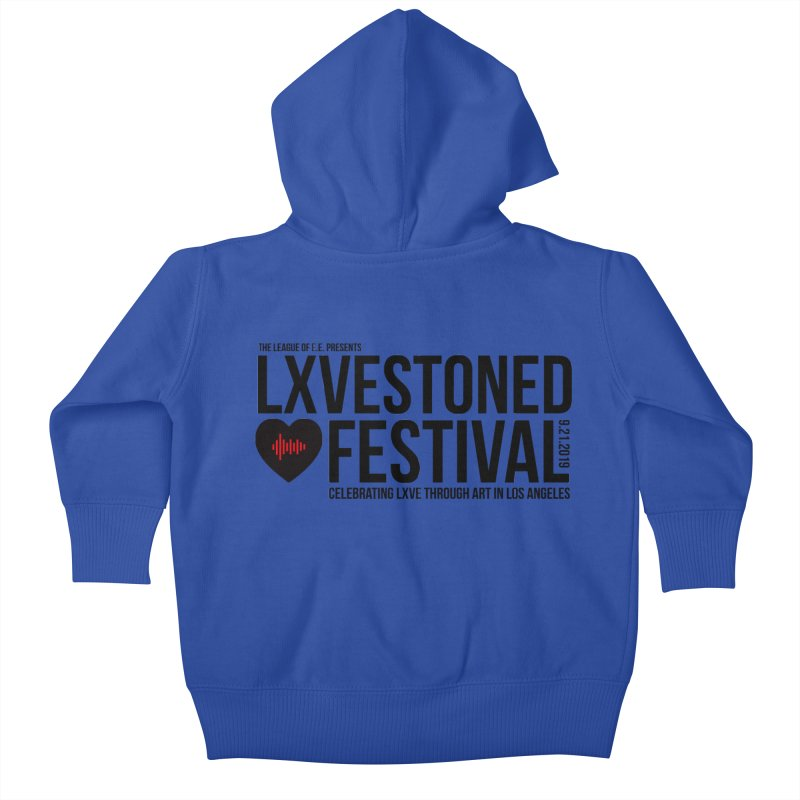 LXSTONED FESTIVAL Kids Baby Zip-Up Hoody by TDUB951