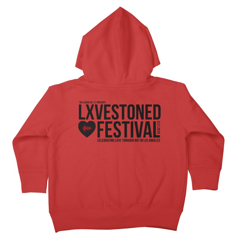 LXSTONED FESTIVAL Kids Toddler Zip-Up Hoody by TDUB951