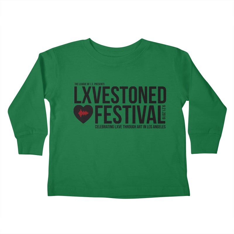LXSTONED FESTIVAL Kids Toddler Longsleeve T-Shirt by TDUB951