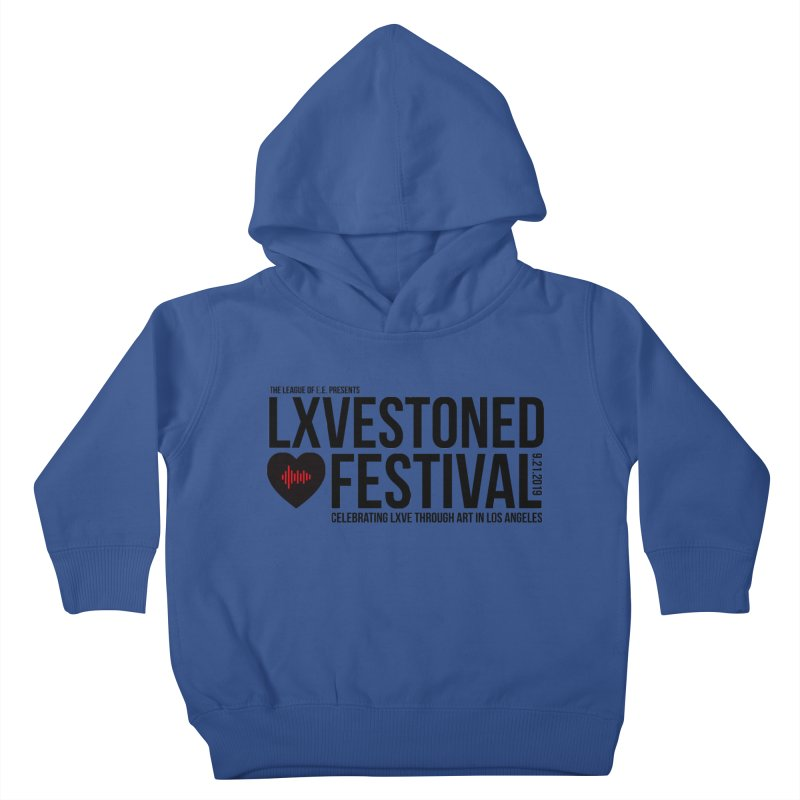 LXSTONED FESTIVAL Kids Toddler Pullover Hoody by TDUB951