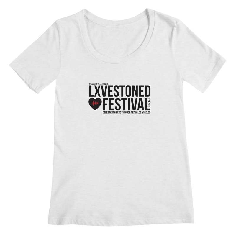 LXSTONED FESTIVAL Women's Regular Scoop Neck by TDUB951