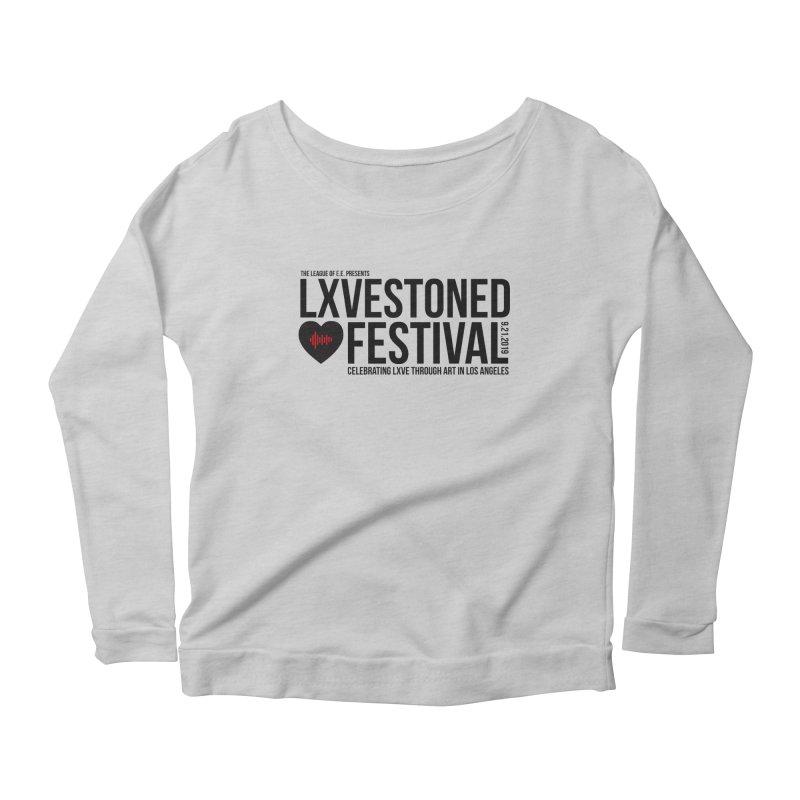 LXSTONED FESTIVAL Women's Scoop Neck Longsleeve T-Shirt by TDUB951