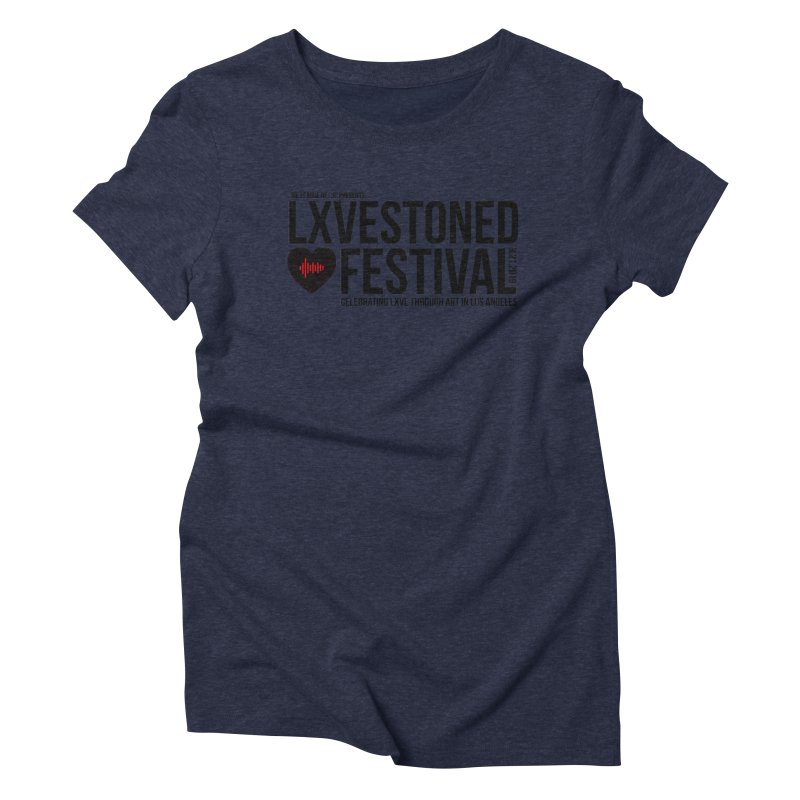 LXSTONED FESTIVAL Women's Triblend T-Shirt by TDUB951