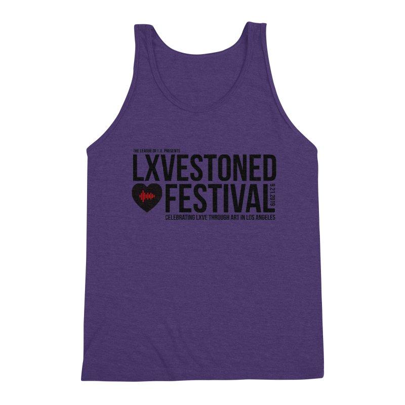LXSTONED FESTIVAL Men's Triblend Tank by TDUB951