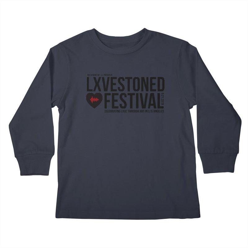 LXSTONED FESTIVAL Kids Longsleeve T-Shirt by TDUB951
