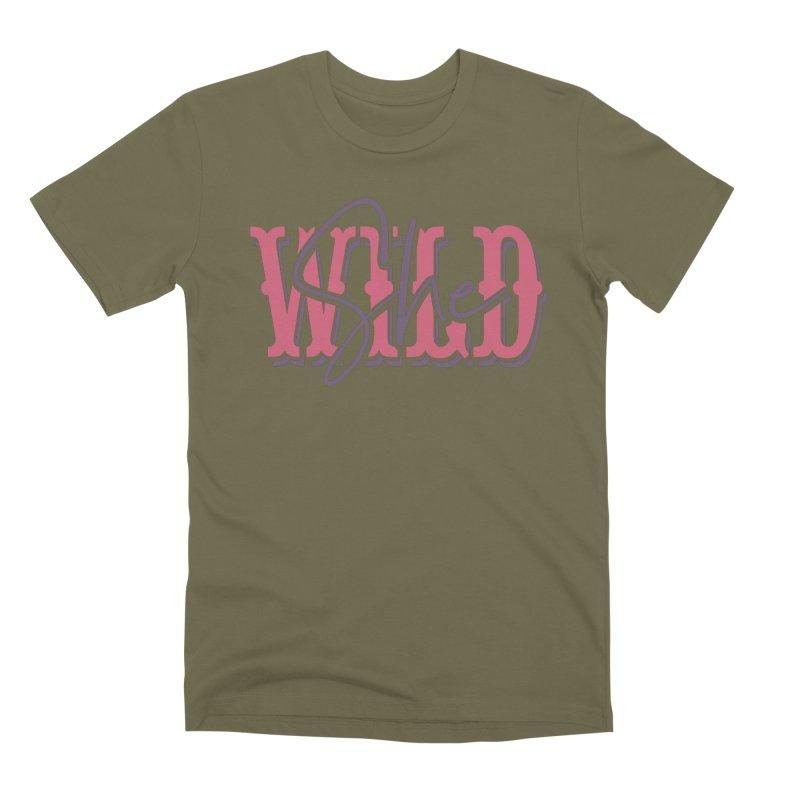 She Wild Men's Premium T-Shirt by TDUB951