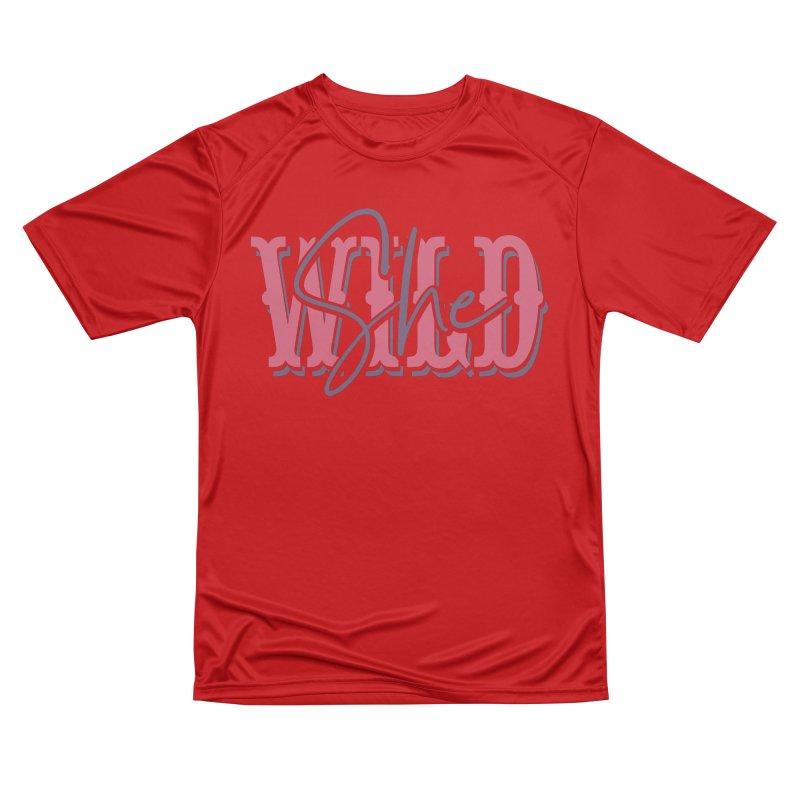 She Wild Men's Performance T-Shirt by TDUB951