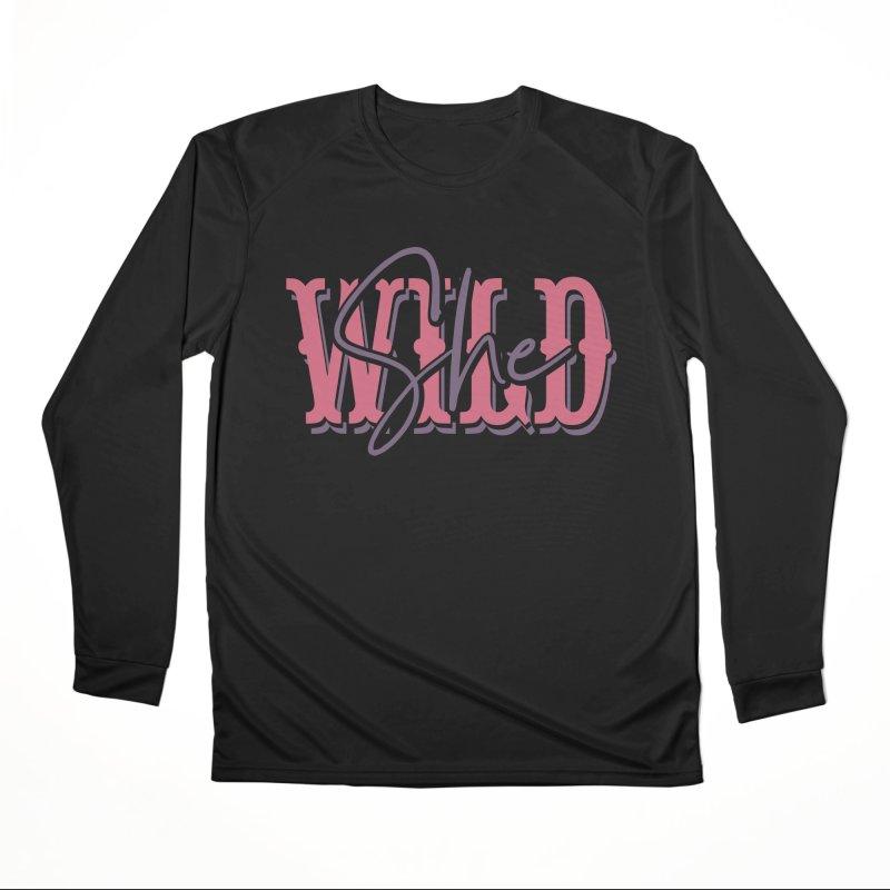 She Wild Men's Performance Longsleeve T-Shirt by TDUB951