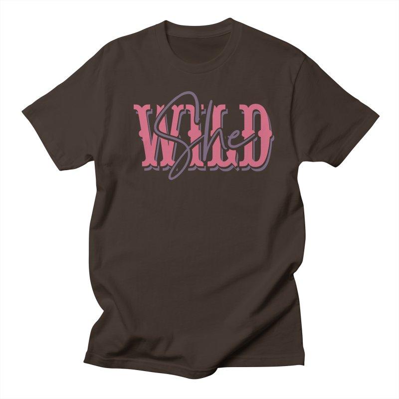 She Wild Men's Regular T-Shirt by TDUB951