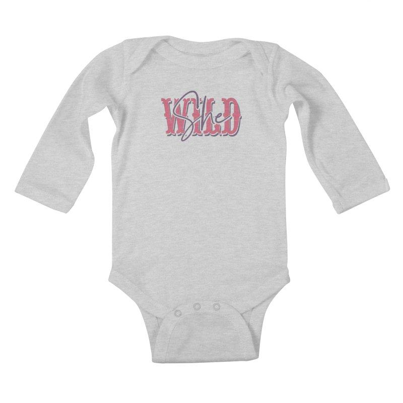 She Wild Kids Baby Longsleeve Bodysuit by TDUB951