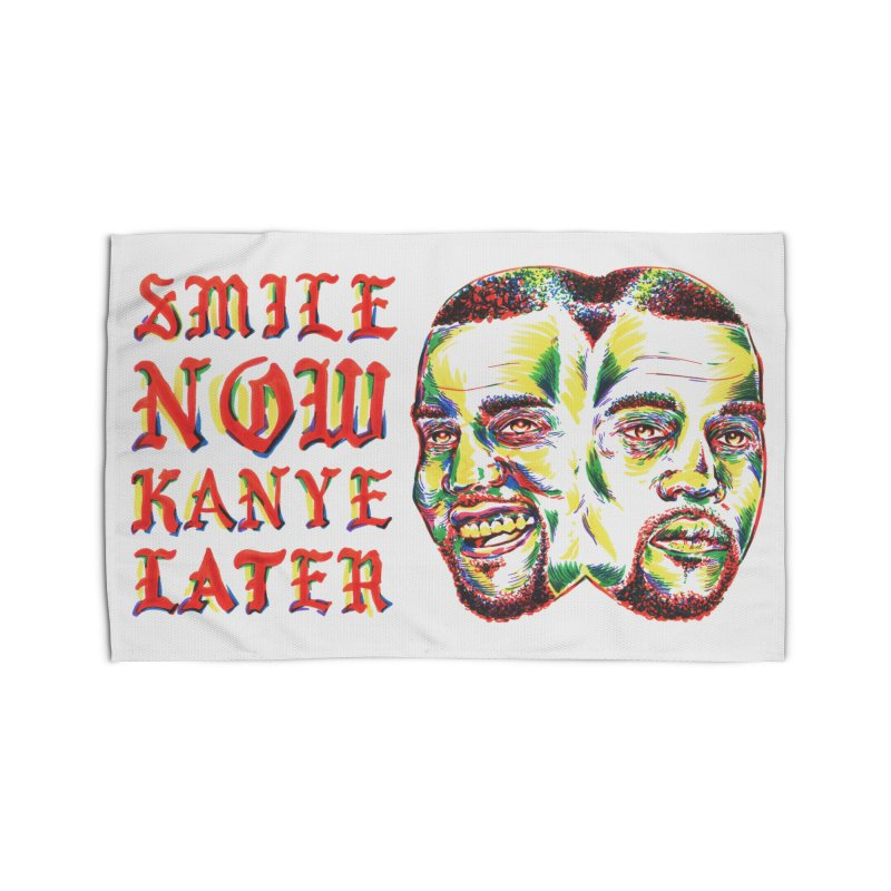 Smile Now Pablo Later Home Rug by TDUB951