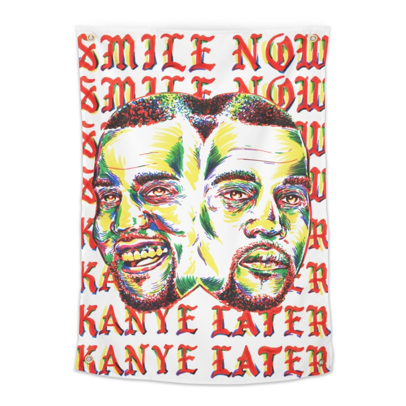 Smile Now Pablo Later Home Tapestry by TDUB951