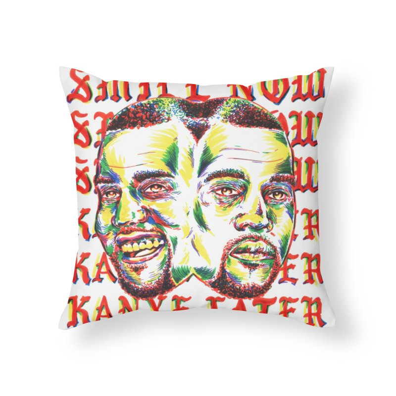 Smile Now Pablo Later in Throw Pillow by TDUB951