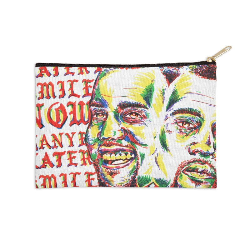 Smile Now Pablo Later in Zip Pouch by TDUB951