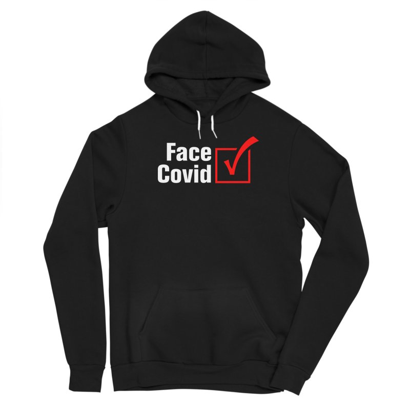 Face Covid (Check) Women's Pullover Hoody by TDUB951