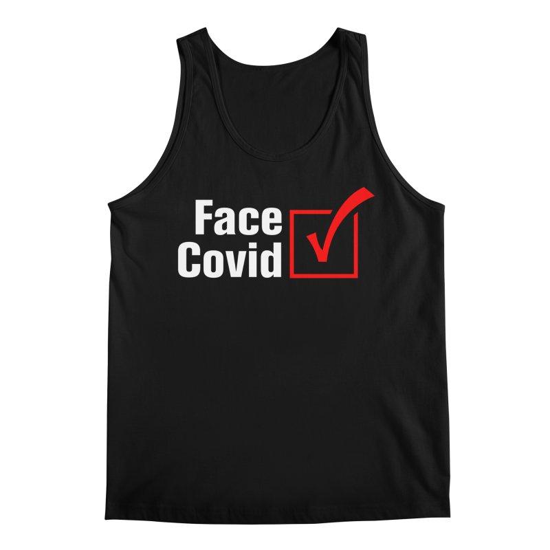 Face Covid (Check) Men's Tank by TDUB951