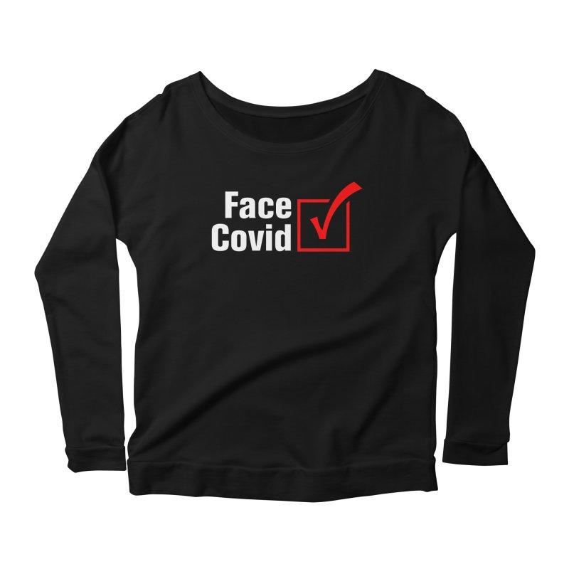 Face Covid (Check) Women's Longsleeve T-Shirt by TDUB951