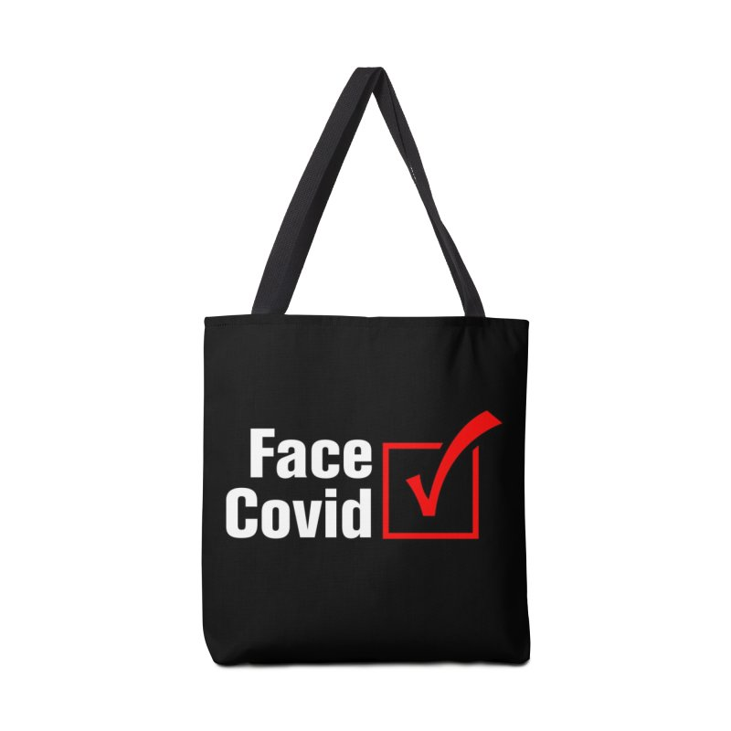 Face Covid (Check) Accessories Bag by TDUB951