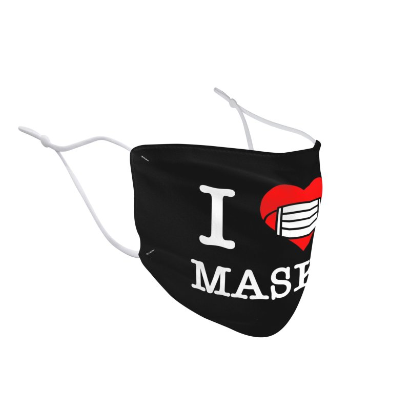 I Heart Masks Accessories Face Mask by TDUB951
