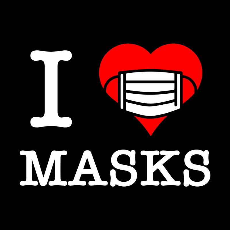I Heart Masks Women's Pullover Hoody by TDUB951