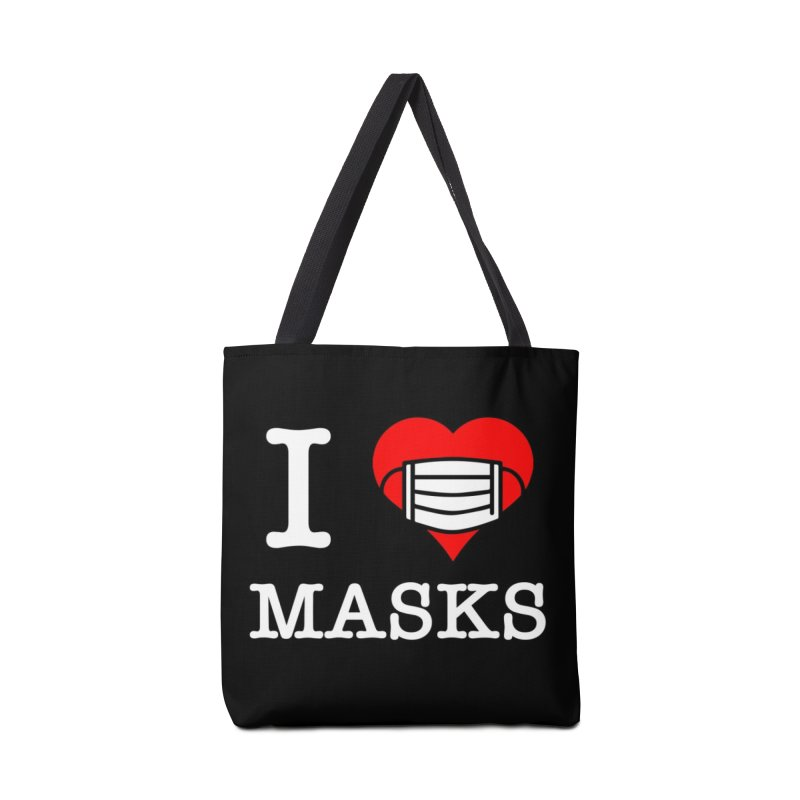 I Heart Masks Accessories Bag by TDUB951