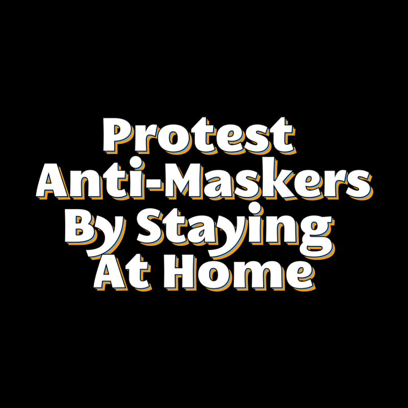 Protest Anti-Maskers Women's V-Neck by TDUB951