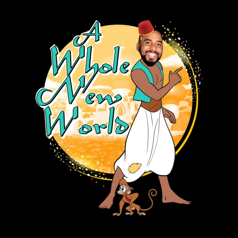 A Whole New World Men's T-Shirt by TDUB951