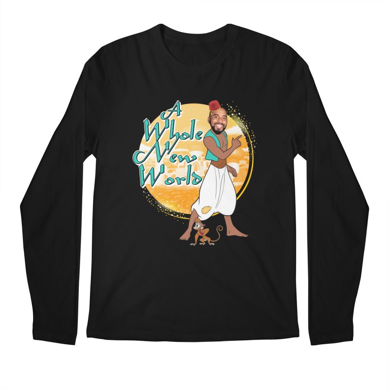 A Whole New World Men's Longsleeve T-Shirt by TDUB951
