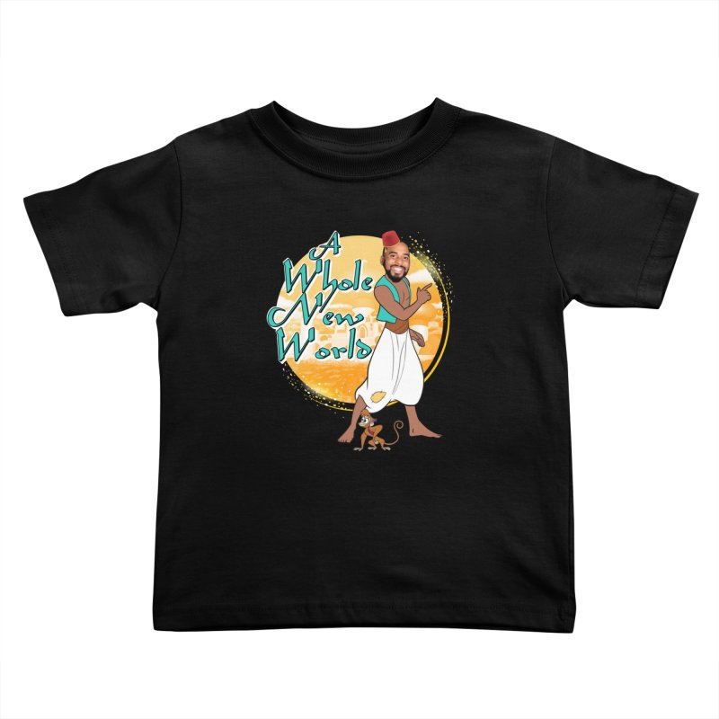 A Whole New World Kids Toddler T-Shirt by TDUB951