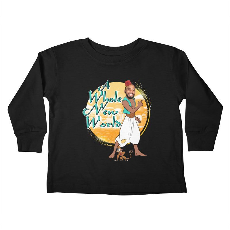 A Whole New World Kids Toddler Longsleeve T-Shirt by TDUB951