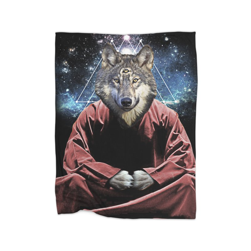 Aware Wolf Home Blanket by TDUB951