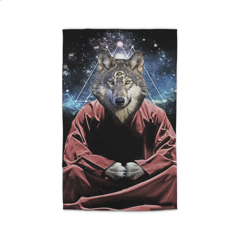 Aware Wolf Home Rug by TDUB951