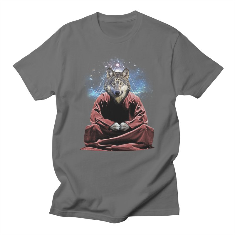 Aware Wolf Men's T-Shirt by TDUB951
