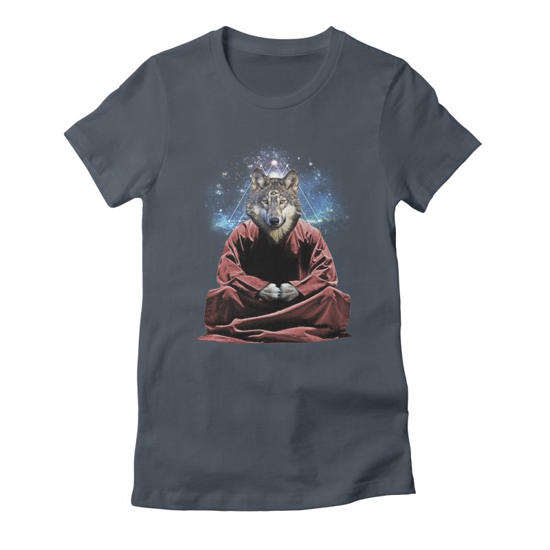 Aware Wolf Women's T-Shirt by TDUB951