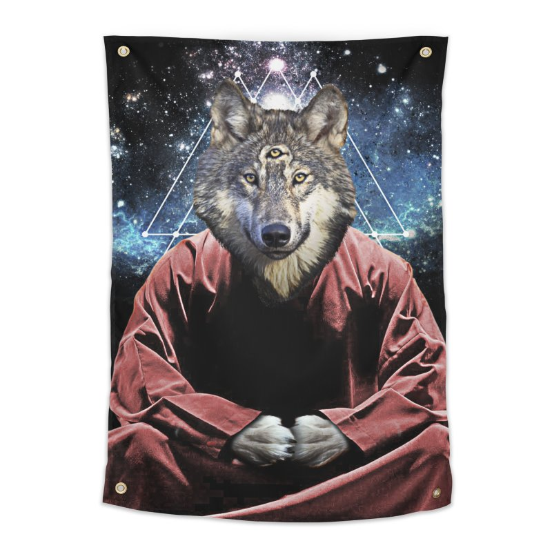 Aware Wolf Home Tapestry by TDUB951