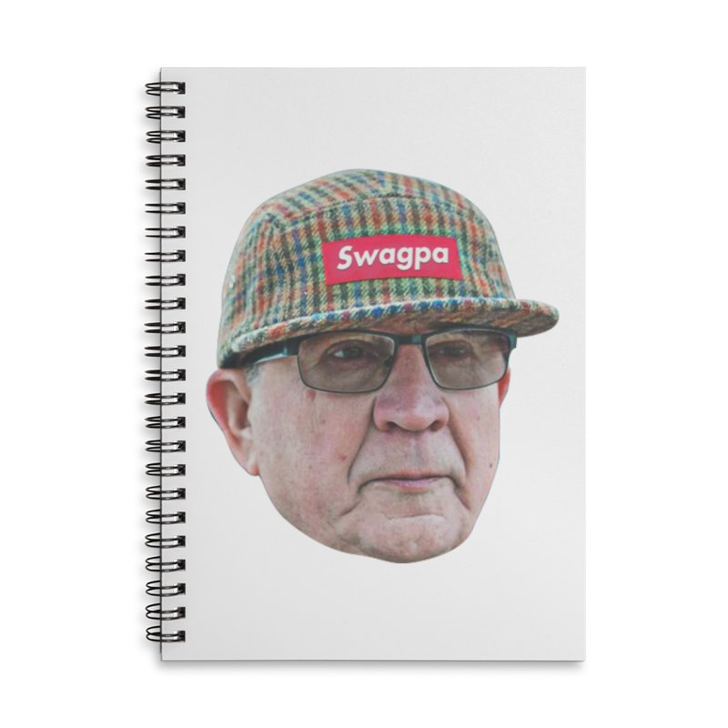 Swagpa Accessories Lined Spiral Notebook by TDUB951