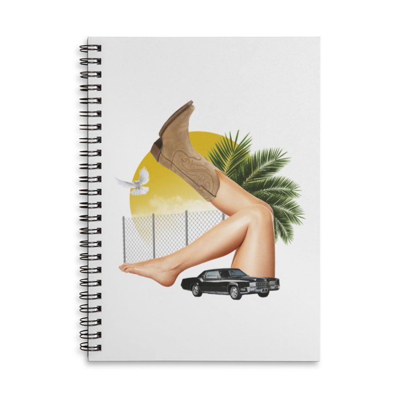 Bootleg  Accessories Lined Spiral Notebook by TDUB951