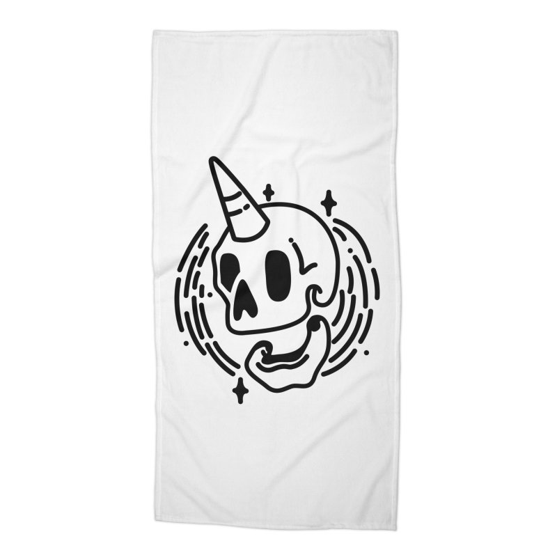 Uniskull Mono Accessories Beach Towel by TDUB951