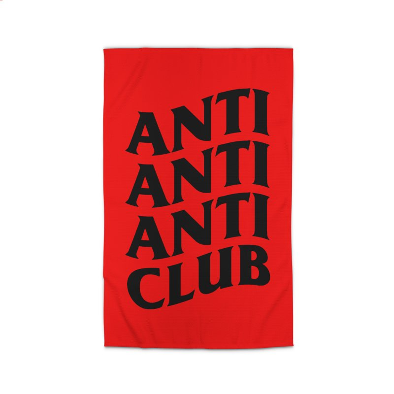 Anti Anti Anti Club Home Rug by TDUB951