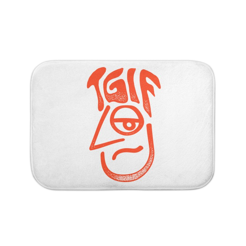 TGIF Hair Day Home Bath Mat by TDUB951