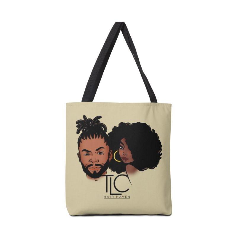 TLC Hair Haven Logo Tee Accessories Bag by TDUB951