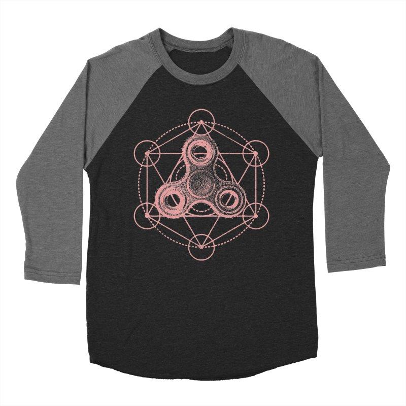 Sacred Fidgometry Women's Baseball Triblend Longsleeve T-Shirt by TDUB951