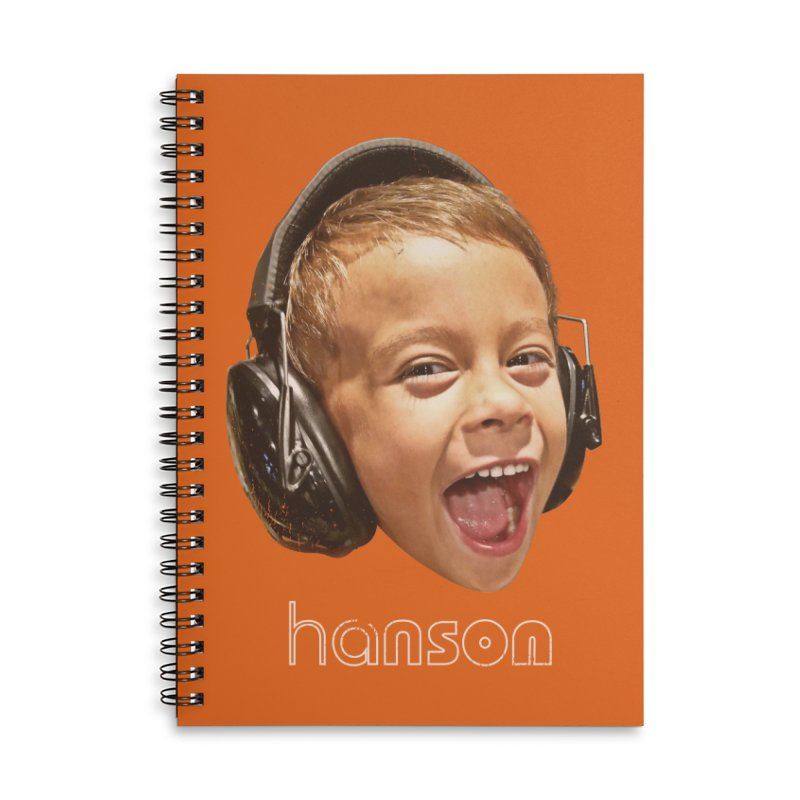 Z - Hanson Accessories Lined Spiral Notebook by TDUB951