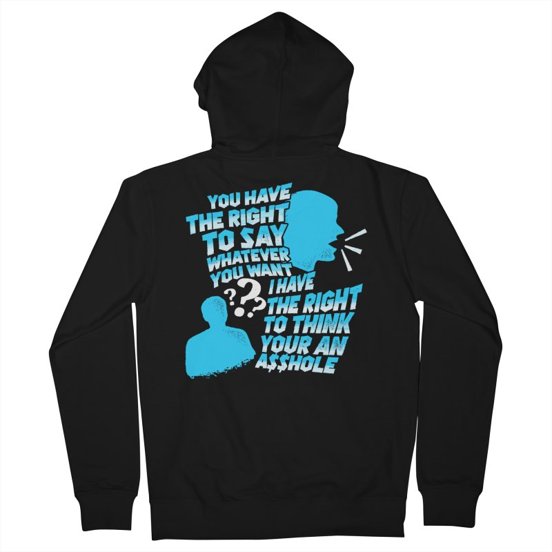 Yeah Go On... Women's French Terry Zip-Up Hoody by TDUB951