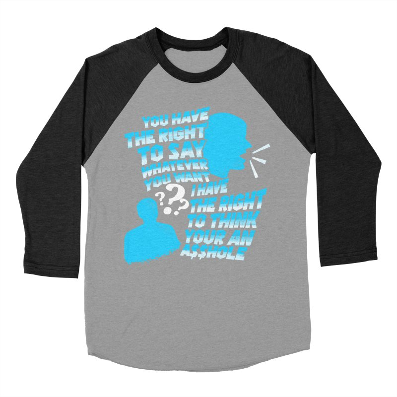 Yeah Go On... Women's Baseball Triblend Longsleeve T-Shirt by TDUB951