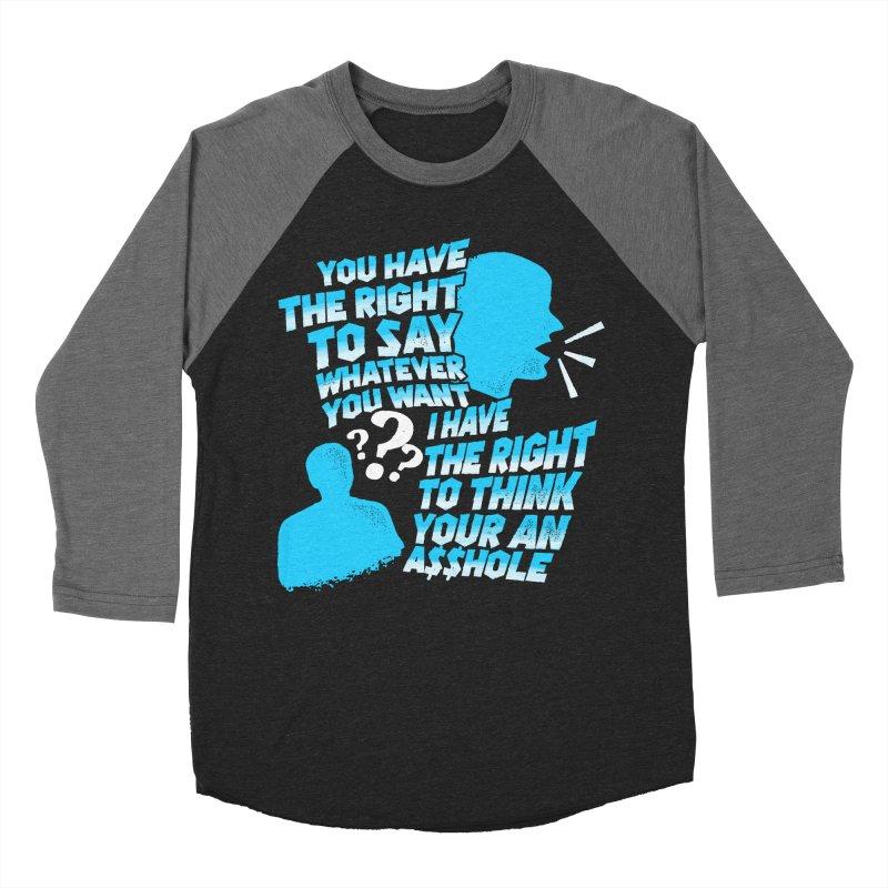 Yeah Go On... Men's Baseball Triblend Longsleeve T-Shirt by TDUB951