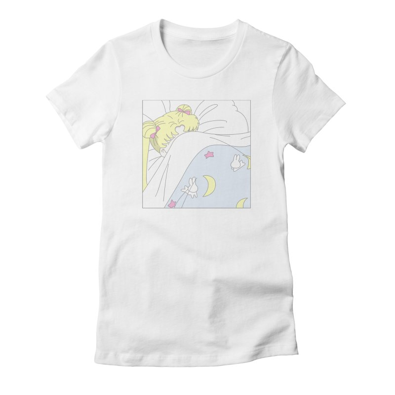 Sleepy Sailor Women's Fitted T-Shirt by TDUB951